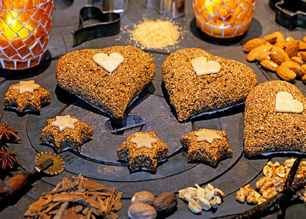 Lebkuchen aus Mandeln